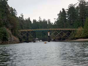 Pender Island Bridge