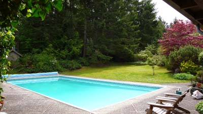 Swimming Pool on Salt Spring